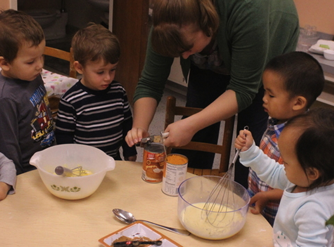 Toddler Group Baking