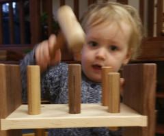 Toddler blog - hammering copy